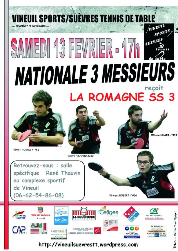 affiche du 13 fevrier